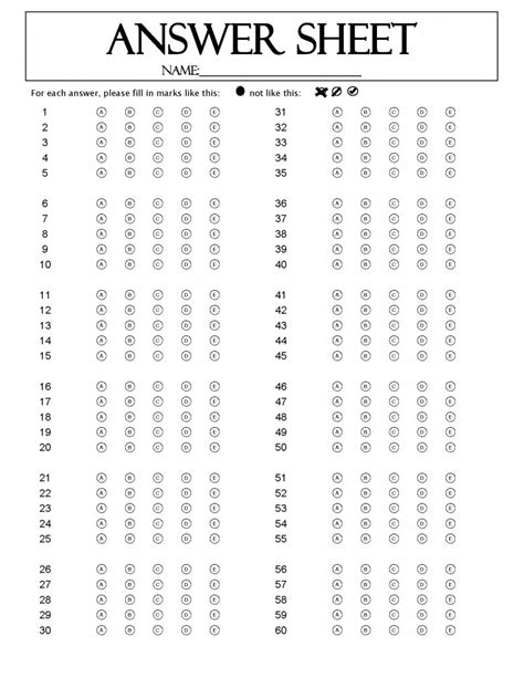 question answer sheet remark software