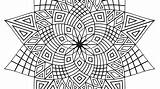 Coloring Flower Complex Printable Adults Getcolorings Excellent sketch template