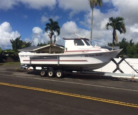 Boat Sale Hawaii by 2014 Marine 32 Fishing Boat For Sale In Hilo Hi