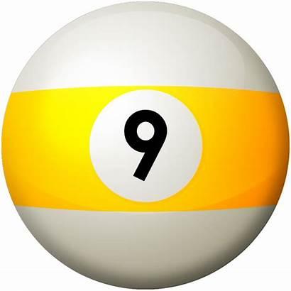 Ball Clipart Pool Balls Billiard Nine Rules