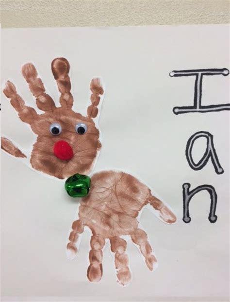baby craft ideas reindeer project children 5923