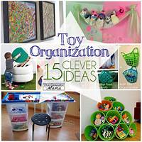 toy organization ideas 15 Clever Ways to Organize Toys - The Realistic Mama