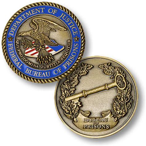federal bureau of prisons federal bureau of prisons coin