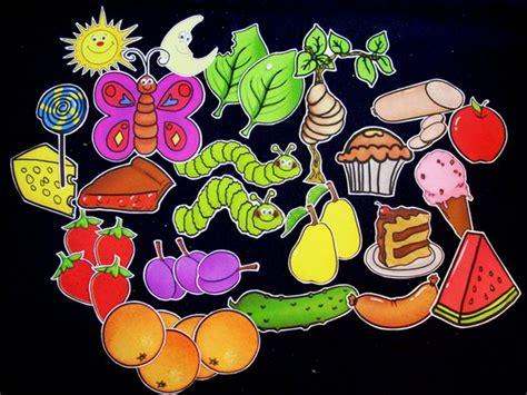 Hungry Caterpillar 33 Pc Flannel Felt Story