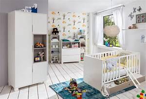 Etagere Enfant Murale : etagere murale joris chambre bebe blanc gris sable ~ Teatrodelosmanantiales.com Idées de Décoration