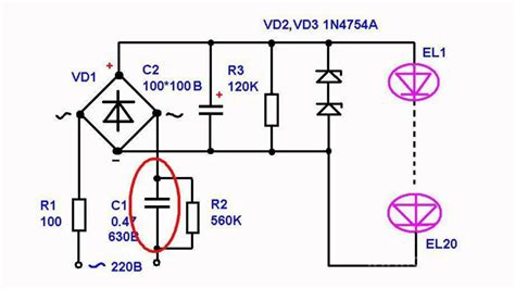 drop light led simple power supply circuits for led ls