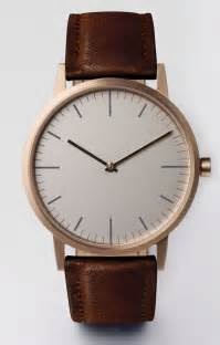 Pin Rose Gold Watches Leather