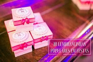 10 lembrancinhas populares em festas de 15 anos Debuteen O Blog da Debutante