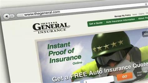 general tv commercial unhappy insurance company