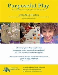 Purposeful Play at JCDSRI - Jewish Community Day School of ...