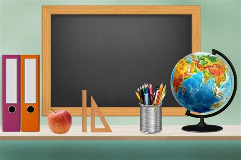 school classroom illustration  stock photo public