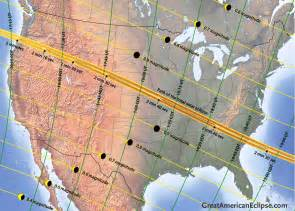 Great American Solar Eclipse 2017 Path