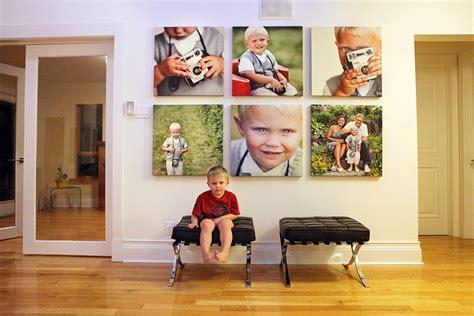 photo montage  canvas