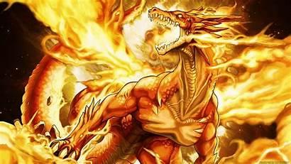 Dragon Fire Wallpapers Cool 3d Wide Desktop