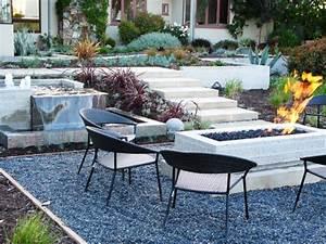 Terrasse Mit Kies : kiesgarten anlegen 29 faszinierende gestaltungsideen ~ Markanthonyermac.com Haus und Dekorationen
