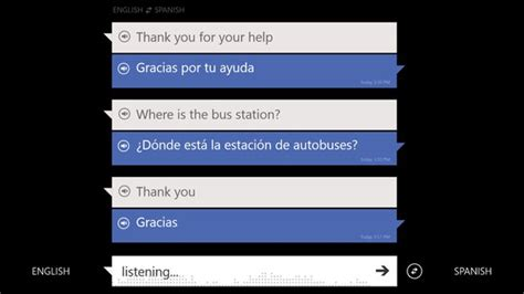 bing translator app adds slightly awkward voice feature