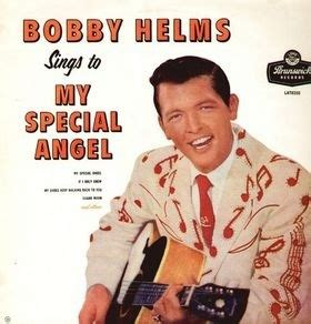 bobby helms albums bobby helms sings to my special angel lyrics and