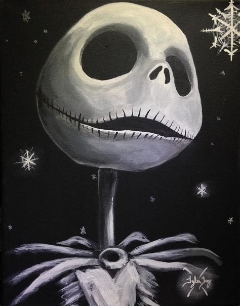 skellington painting by haddox