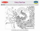 Coloring Fairy Printable Tales Tale Printables Doug Melissa Melissaanddoug Activities Activity Fun Fairytale sketch template