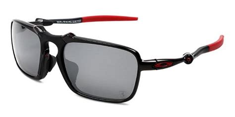 Also a pair of matte black flak jackets which are exclusive to sunglass. Oakley OO6035 SCUDERIA FERRARI COLLECTION BADMAN Asian Fit Polarized 603504 Sunglasses Black ...