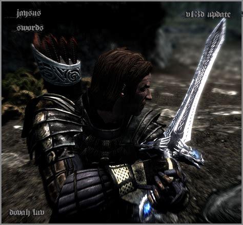 jaysus swords at skyrim nexus mods and community