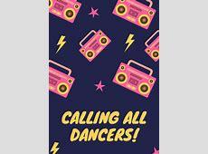 Customize 83+ Dance Flyer templates online Canva