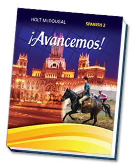 This website corresponds with our textbook and has it all! ¡Avancemos!, Holt Spanish Level 2, National Edition: Unidad 2: ¡Somos saludables!