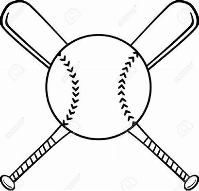 Bat Clipart Baseball Softball Ball Silhouette Clipground