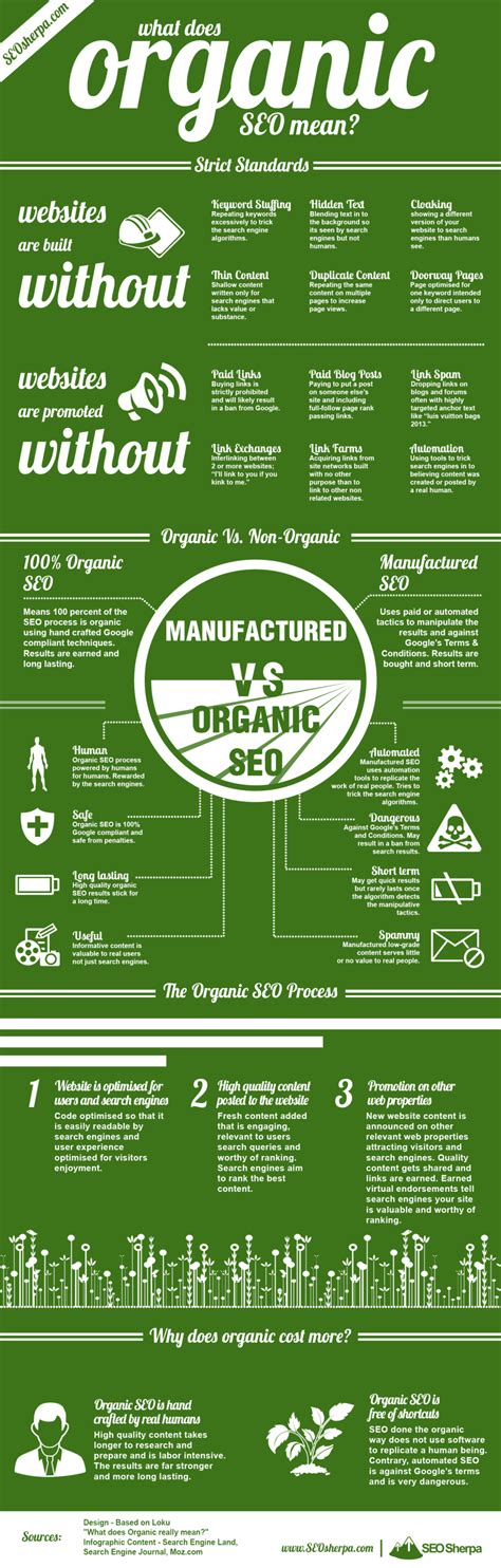 organic seo what does organic seo