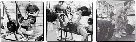 bench squat deadlift back to the basics mass power barbell workout