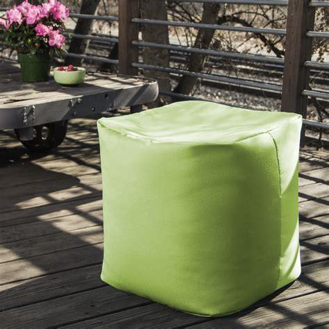 outdoor pouf ottoman jaxx jaxx outdoor pouf ottoman reviews wayfair