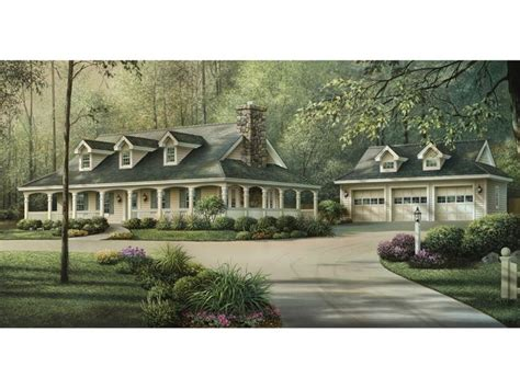 country home plans with front porch shadyview country ranch home house plan 592 007d 0124