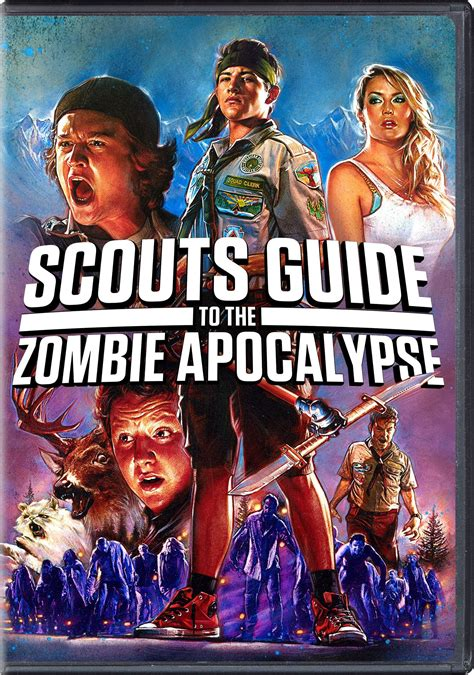 zombie apocalypse scouts guide dvd movies covers date