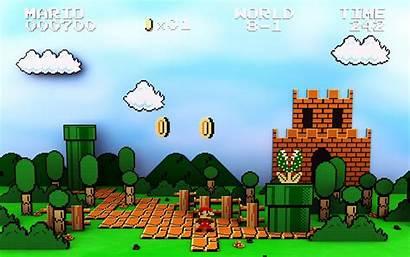 Mario Pixel Wallpapers Backgrounds