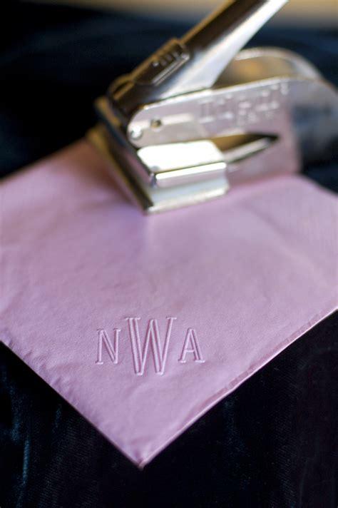 inexpensive diy personalized napkins tikkidocom