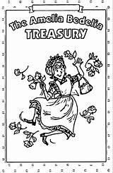 Amelia Bedelia Coloring Treasury Pages Wecoloringpage sketch template