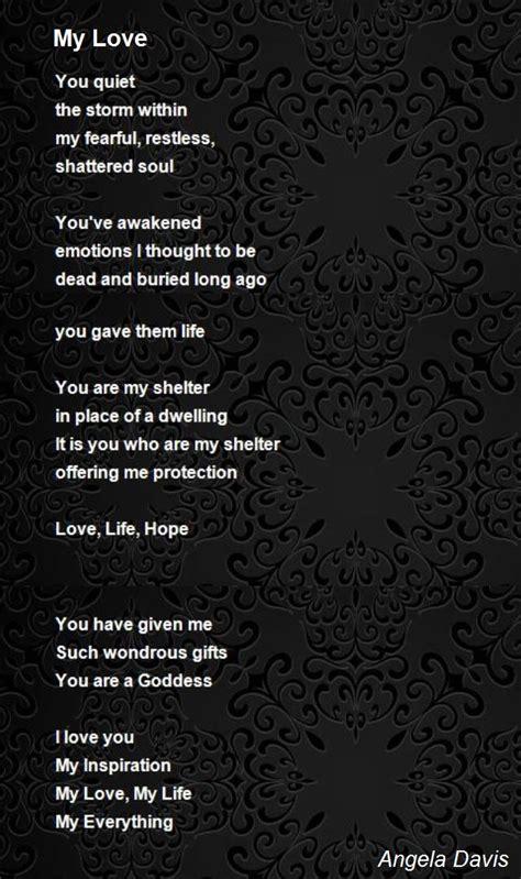 love poem  angela davis poem hunter