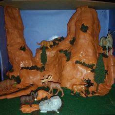 making animals  diorama  hedbergs animal