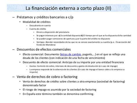10 de financiacion de la empresa