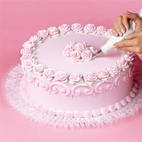Cake Decorations by How To Add Tuk N Ruffle To Cake Boards Wilton