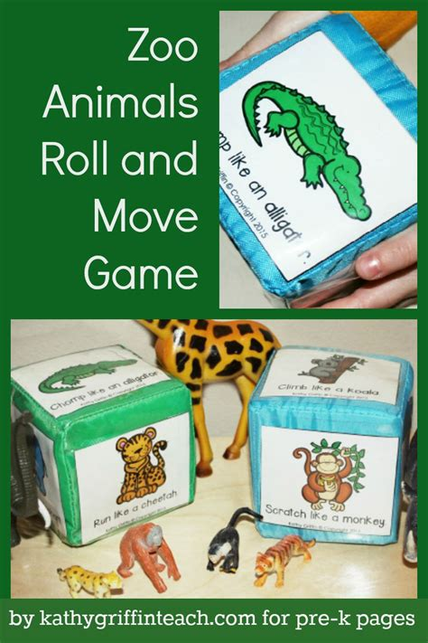 zoo animals roll and move pre k pages zoo 458 | 04b9ac9ad44622a3cfb70baf523f404b