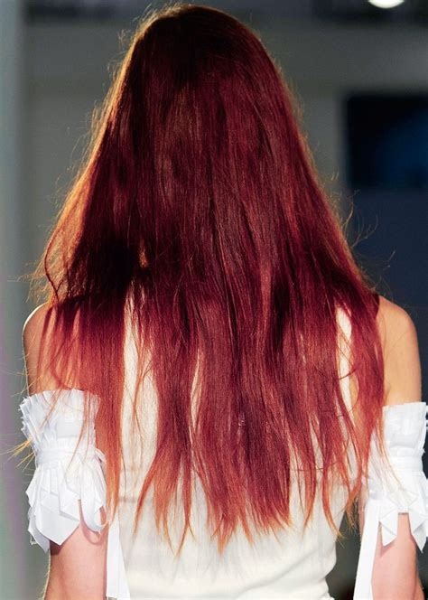 sangria hair color quot sangria hair quot is the magenta hair color we re seeing