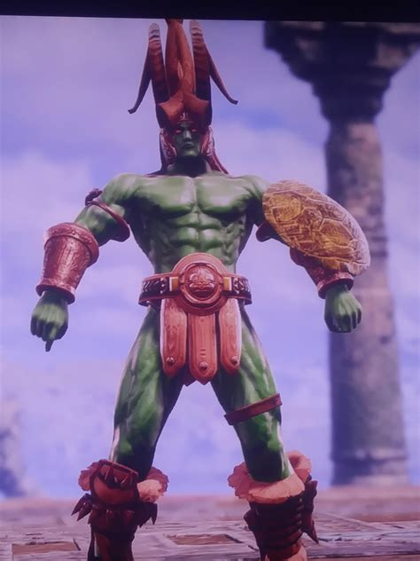 Ogre (Aztec) Tekken : SoulCaliburCreations