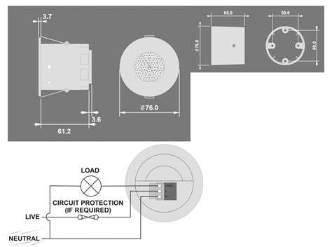 presence detector light switch ebdspir cp electronics ebdspir ceiling pir presence