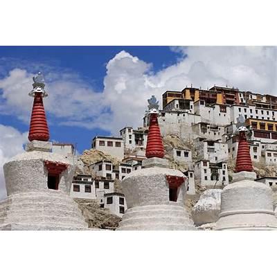 File:Thiksey Monastery - summer 2012.JPG