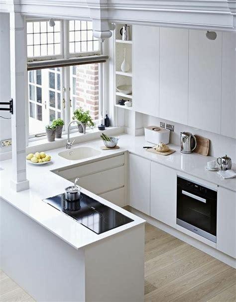 disenos de cocinas modernas blancas decoracion interiores