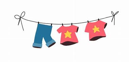 Washing Line Clipart Clothesline Clothespin Transparent Pluspng