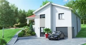 Maison avec sous sol sur terrain en pente ventana blog for Superb modele de plan maison 7 maison sous sol complet saphir logivelay