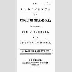 The Rudiments Of English Grammar Wikipedia