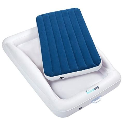 bed inflatable travel toddler mattress safety portable bumpers beds rail kura blow sleep hiccapop rails safe air toddlers side built
